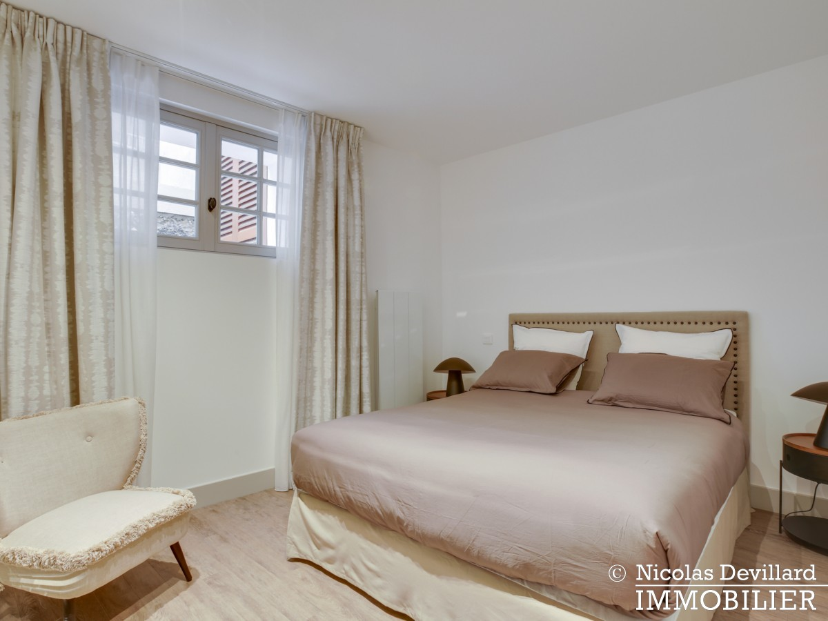 La MuettePompe – Duplex de charme rénové avec patio – 75116 Paris (13)