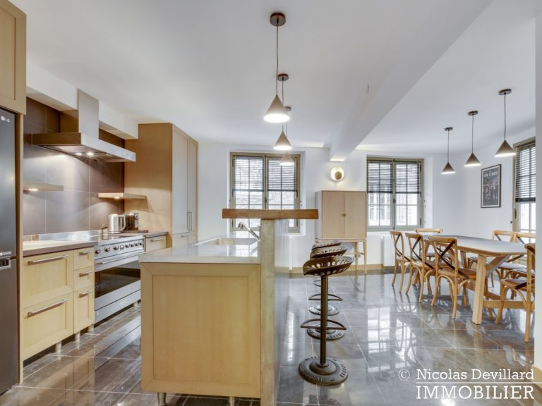La MuettePompe – Duplex de charme rénové avec patio – 75116 Paris (9)