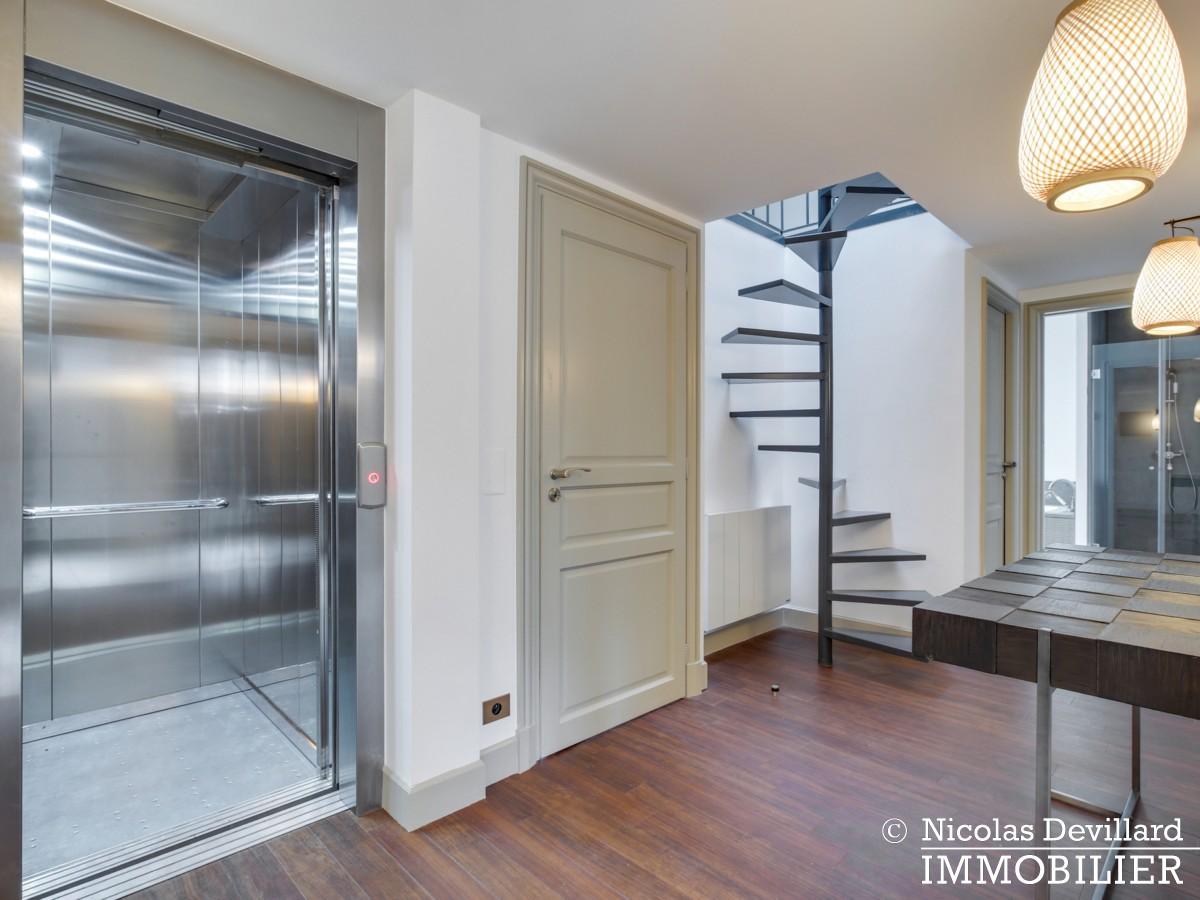 La MuettePompe – Hôtel particulier rénové dans une voie privée – 75116 Paris (12)