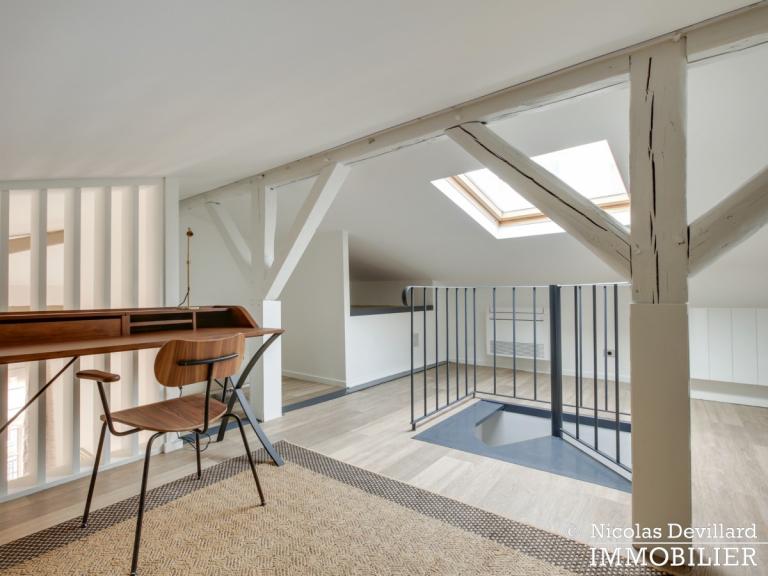 La MuettePompe – Hôtel particulier rénové dans une voie privée – 75116 Paris (13)
