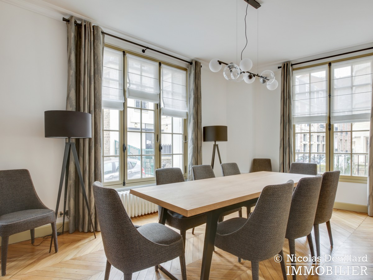 La MuettePompe – Hôtel particulier rénové dans une voie privée – 75116 Paris (16)