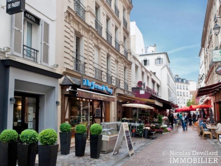La Muettevillage de Passy – Penthouse dernier étage avec terrasses – 75116 Paris (56)