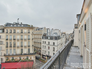 OdéonPont Neuf – Rénové, balcon, charme et vue dégagée 75006 Paris (11)