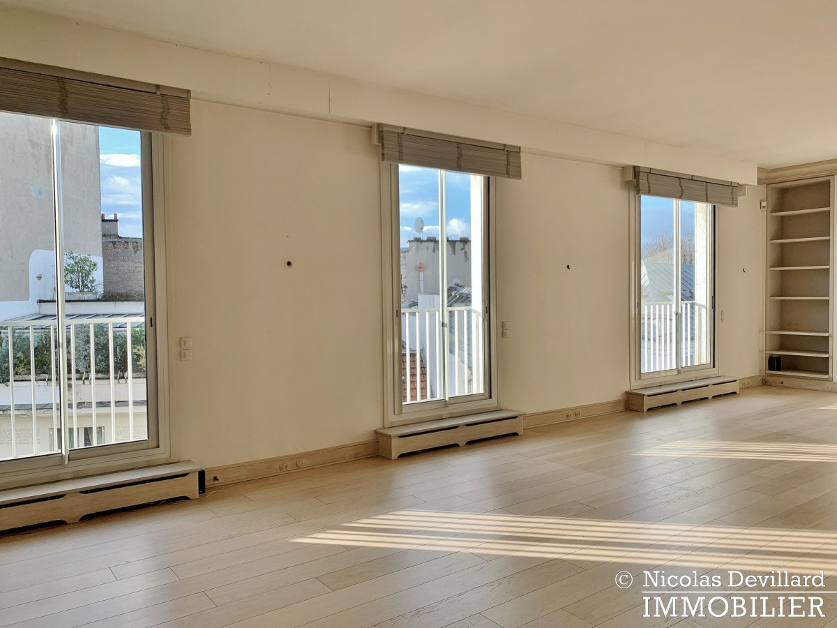 Village d'Auteuil Duplex dernier étage terrasses 75016 Paris (47)