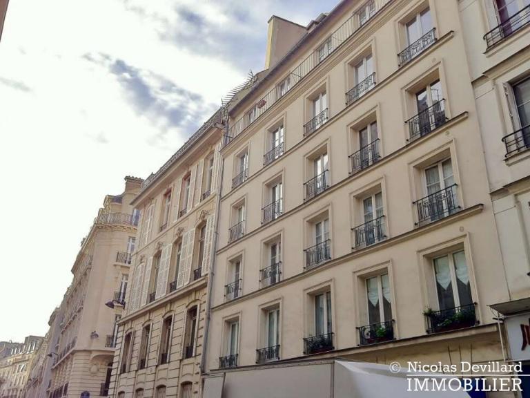 BoëtieMiromesnil – Poutres et balcon -75008 Paris (2)