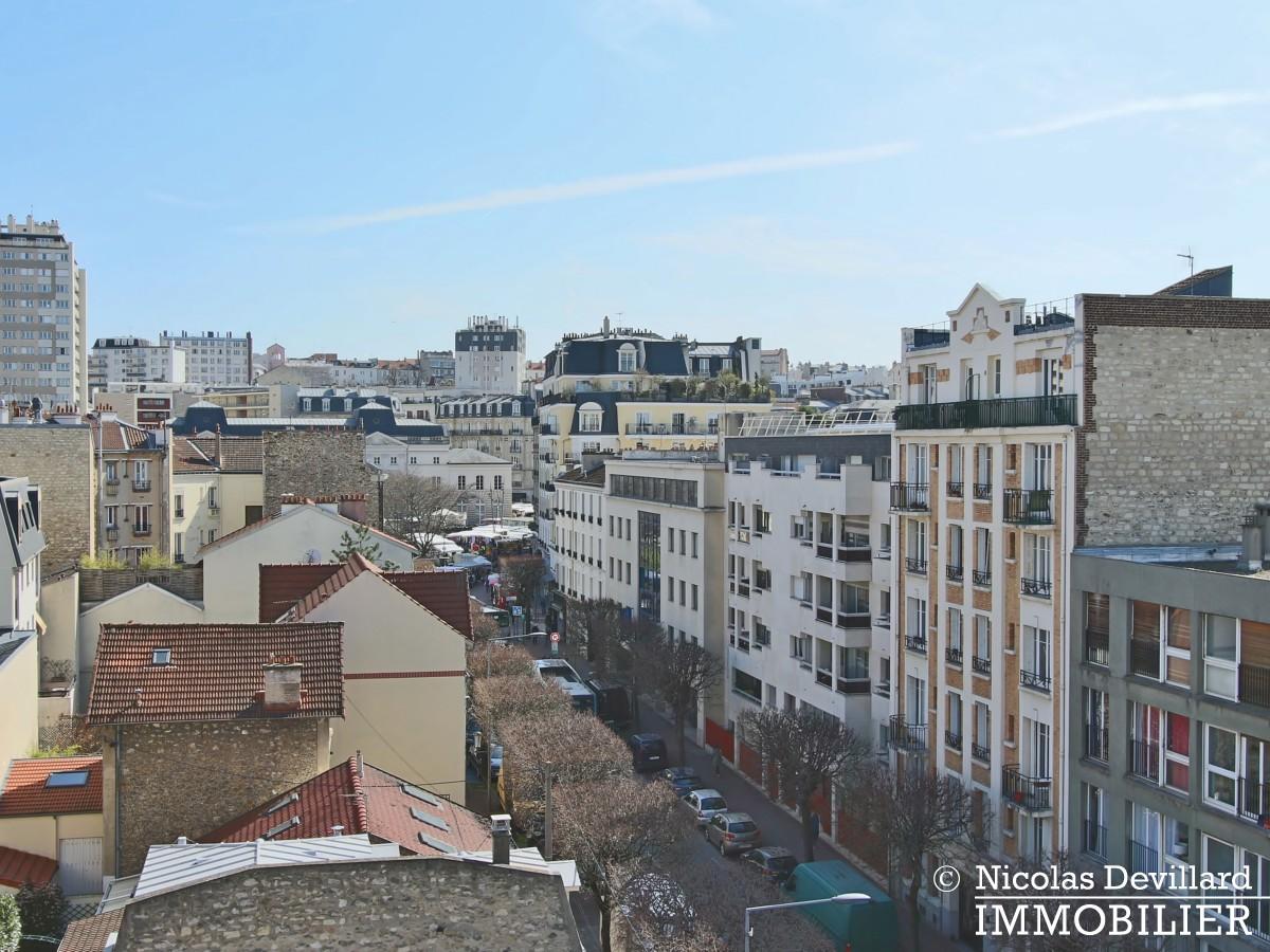 Mairie – Penthouse dernier étage terrasses plein soleil – 92130 Issy lès Moulineaux (41)