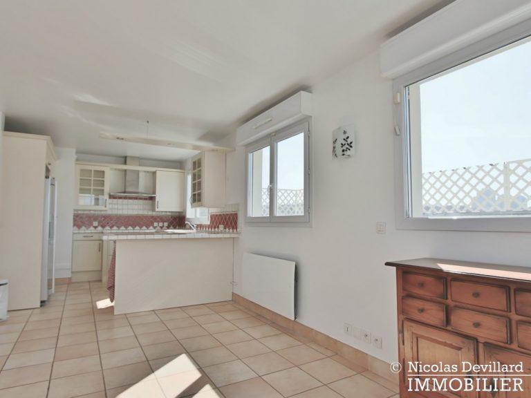 Mairie – Penthouse dernier étage terrasses plein soleil – 92130 Issy-lès-Moulineaux (46)