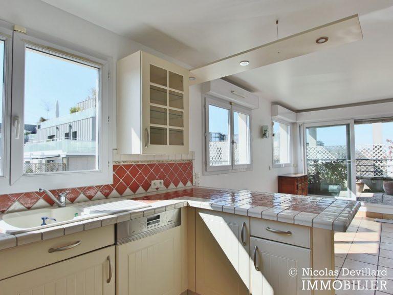 Mairie – Penthouse dernier étage terrasses plein soleil – 92130 Issy-lès-Moulineaux (51)