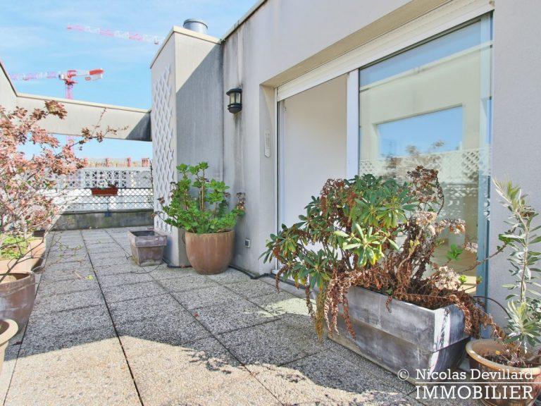 Mairie – Penthouse dernier étage terrasses plein soleil – 92130 Issy-lès-Moulineaux (53)