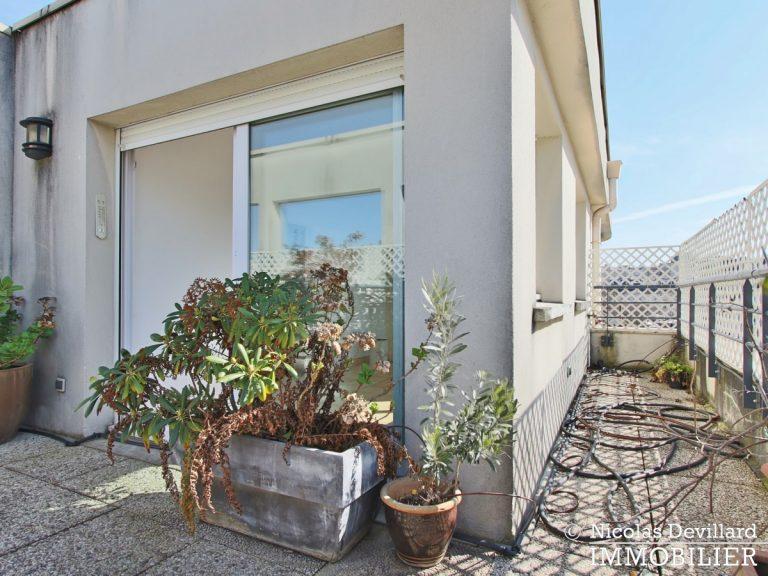 Mairie – Penthouse dernier étage terrasses plein soleil – 92130 Issy-lès-Moulineaux (54)
