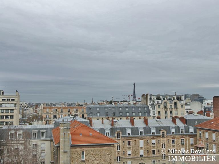 Michel-AngeExelmans – Vue dégagée, plein sud et terrasse – 75016 Paris (12)