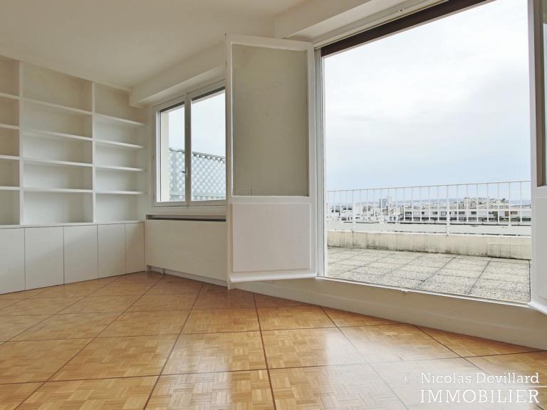 Michel-AngeExelmans – Vue dégagée, plein sud et terrasse – 75016 Paris (5)