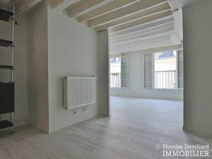 BoëtieMiromesnil – Poutres, lumière et balcon 75008 Paris (17)