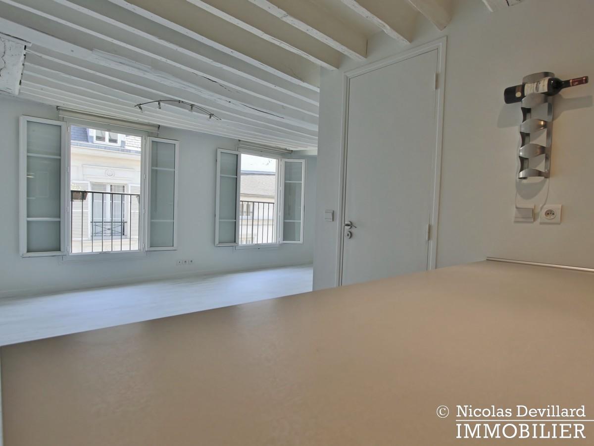 BoëtieMiromesnil – Poutres, lumière et balcon 75008 Paris (3)