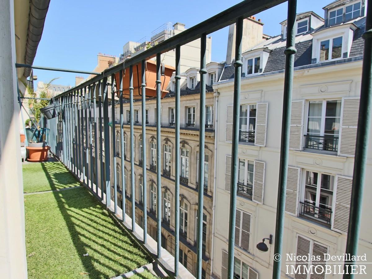 BoëtieMiromesnil – Poutres, lumière et balcon 75008 Paris (4)