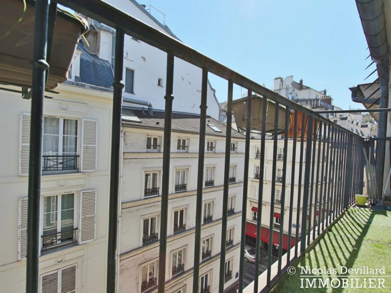 BoëtieMiromesnil – Poutres, lumière et balcon - 75008 Paris (5)