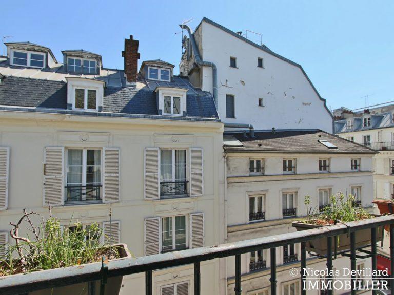 BoëtieMiromesnil – Poutres, lumière et balcon - 75008 Paris (6)