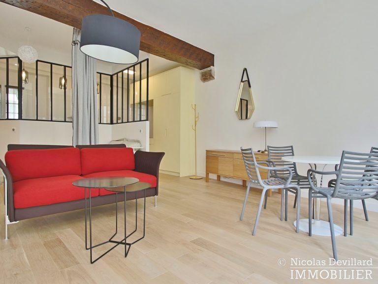 MaraisSaint-Paul – Inspiration loft, volumes et rénové – 75004 Paris (36)