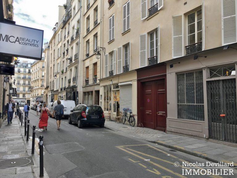 MaraisSaint-Paul – Inspiration loft, volumes et rénové – 75004 Paris (40)