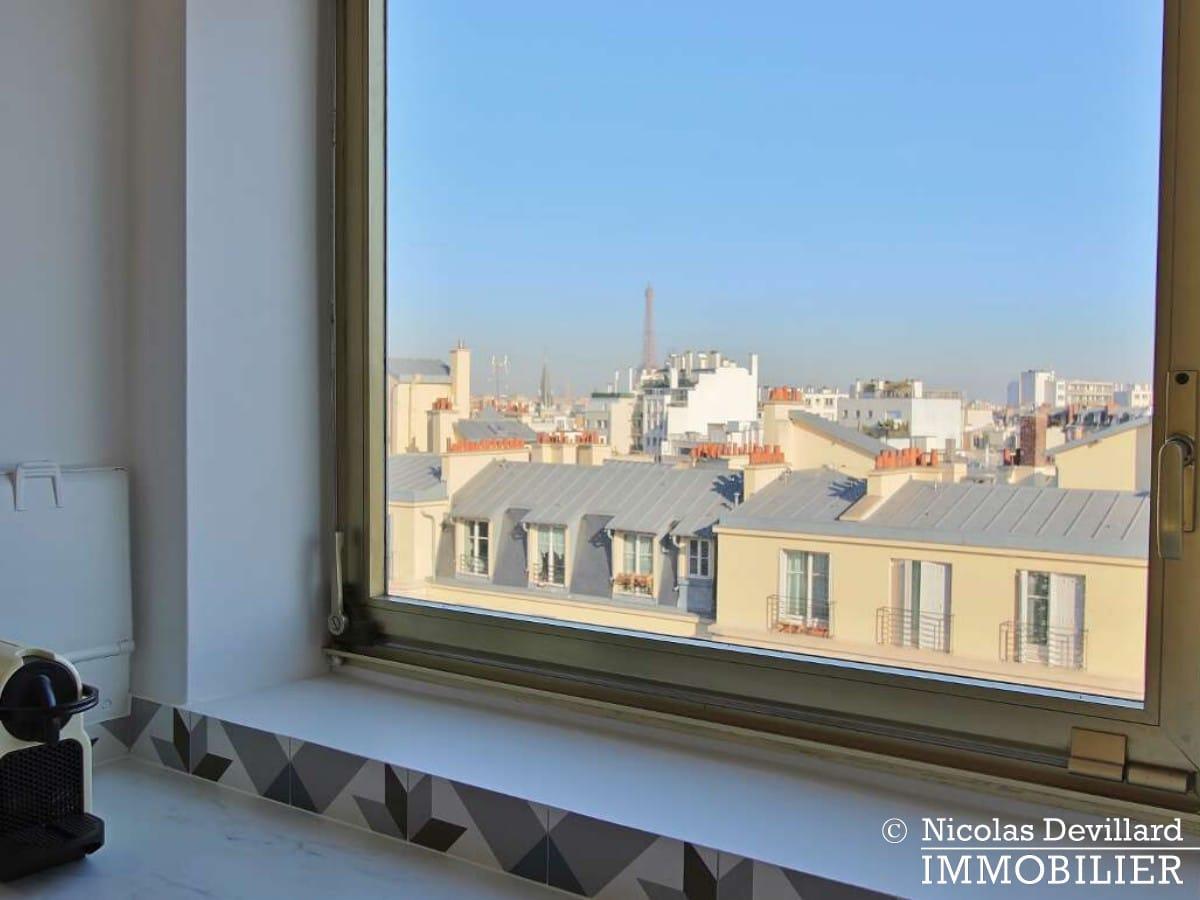 Convention – Dernier étage, terrasse, plein soleil et rénové – 75015 Paris (12)