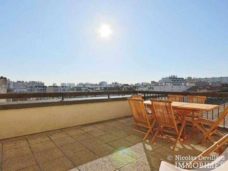Convention – Dernier étage, terrasse, plein soleil et rénové – 75015 Paris (27)