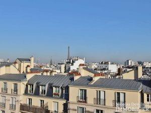 Convention – Dernier étage, terrasse, plein soleil et rénové – 75015 Paris (8)