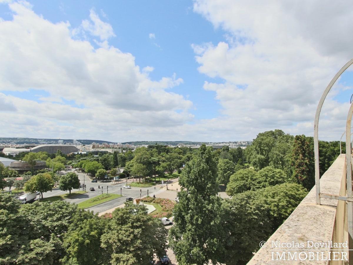 Porte d'Auteuil – Dernier étage, vue panoramique plein sud 75016 (16)