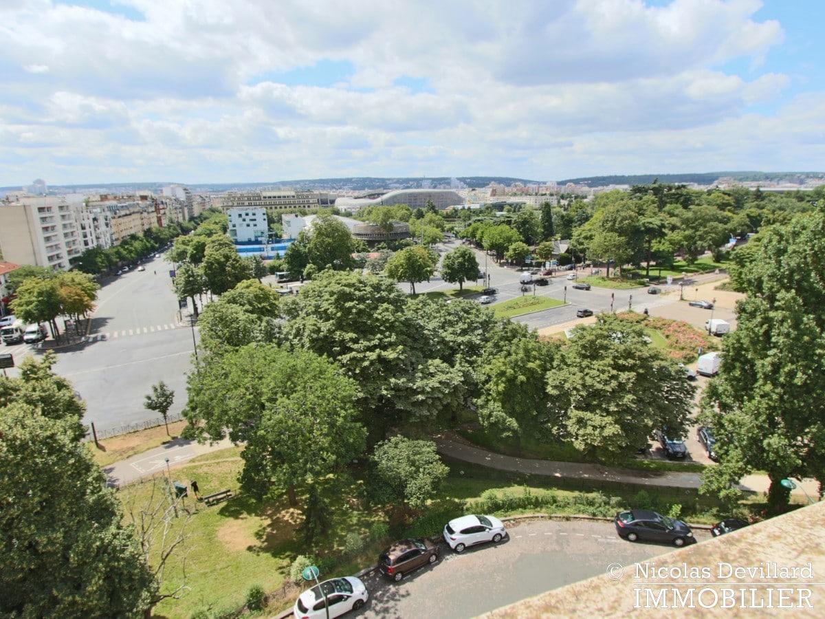 Porte d'Auteuil – Dernier étage, vue panoramique plein sud 75016 (22)