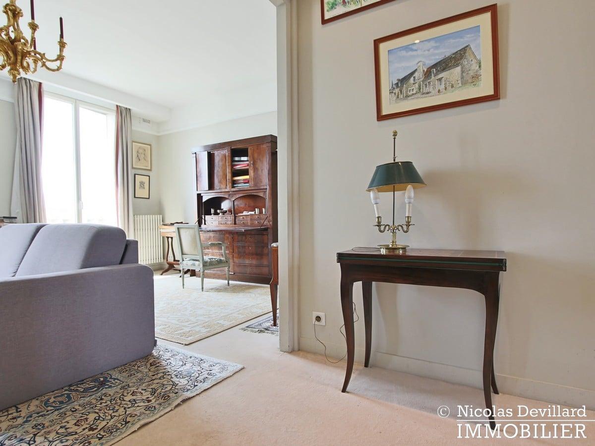 Porte d'Auteuil – Dernier étage, vue panoramique plein sud 75016 (27)