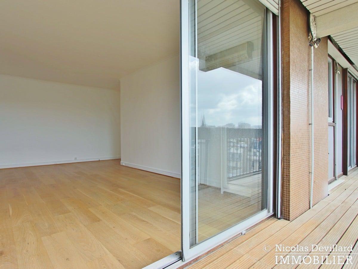 ConventionMairie – Belle vue sans vis à vis, large balcon et grand calme – 75015 Paris (18)