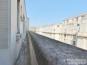 Glacière Etage élevé avec balcon au calme d'une voie privée 75013 Paris (11)