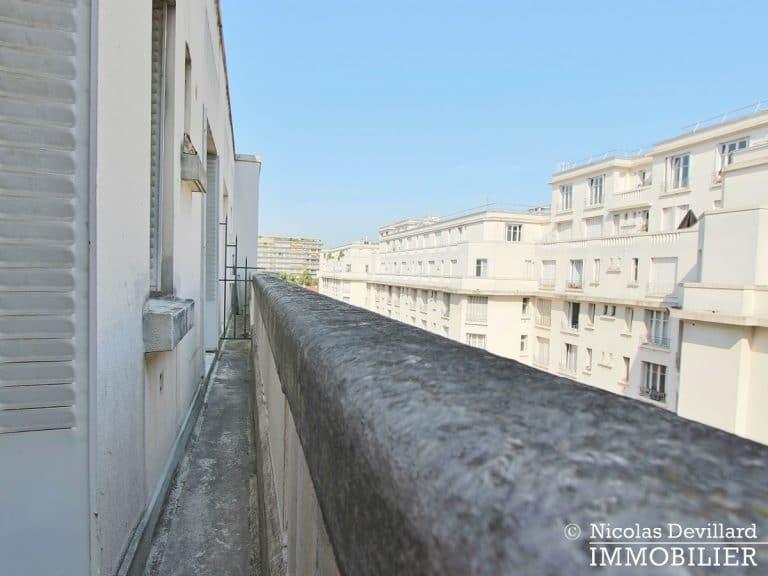 Glacière - Etage élevé avec balcon au calme d'une voie privée - 75013 Paris (11)