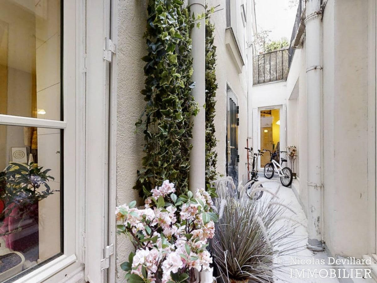 Place de ClichyBatignolles – Charme et patio sur une jolie cour – 75018 Paris (12)