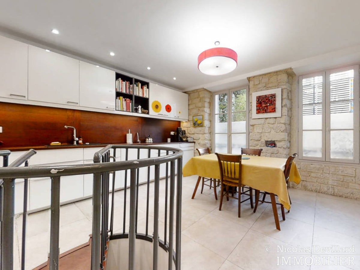 Place de ClichyBatignolles – Charme et patio sur une jolie cour – 75018 Paris (4)