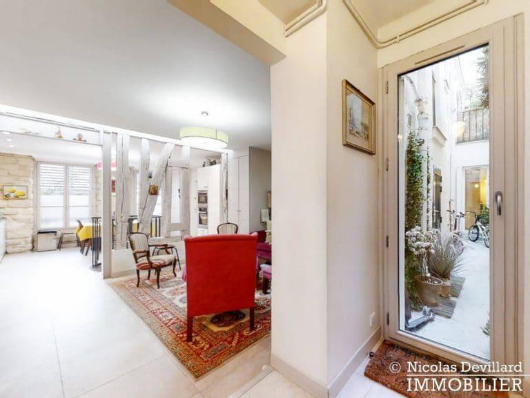 Place de ClichyBatignolles – Charme et patio sur une jolie cour – 75018 Paris (6)