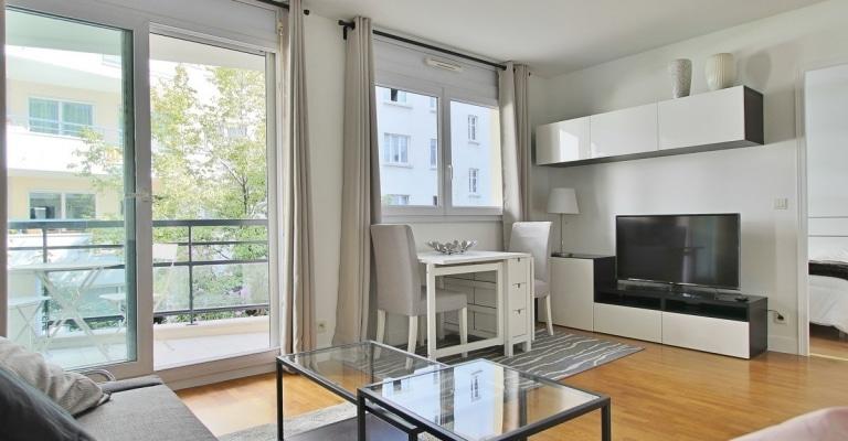 Boulogne Point du Jour – Bon plan, balcon et calme sur jardin – 92100 Boulogne (45)