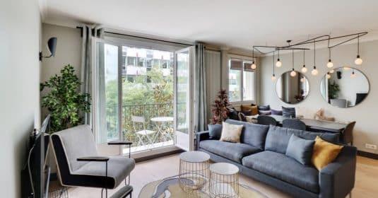 Champ de MarsDupleix – Plan parfait, calme et décoration élégante – 75015 Paris (19)