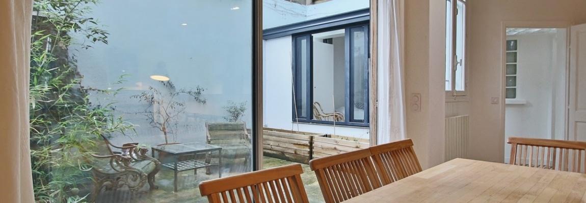 Félix Faure – Calme et charme autour d'un patio dans un hôtel particulier – 75015 Paris (20)