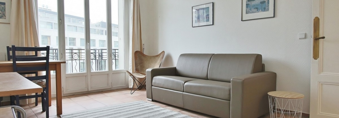HaussmannOpéra – Volume vue et balcon – 75009 Paris 12