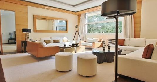 Henri MartinOCDE – Luxueux appartement de réception dans la verdure – 75116 Paris 8