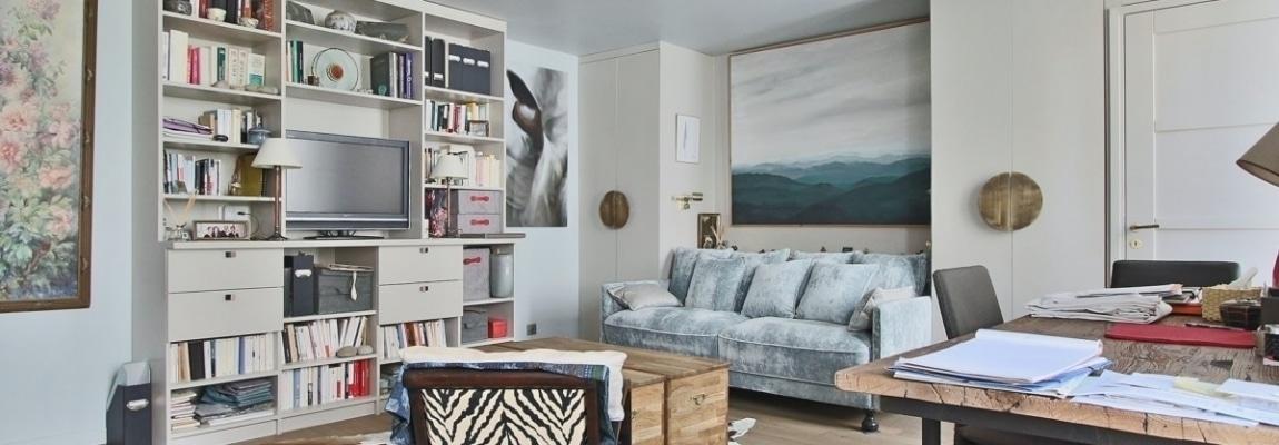 InvalidesSaint Dominique – Vaste studio superbement rénové sur cour arborée – 75007 Paris 7
