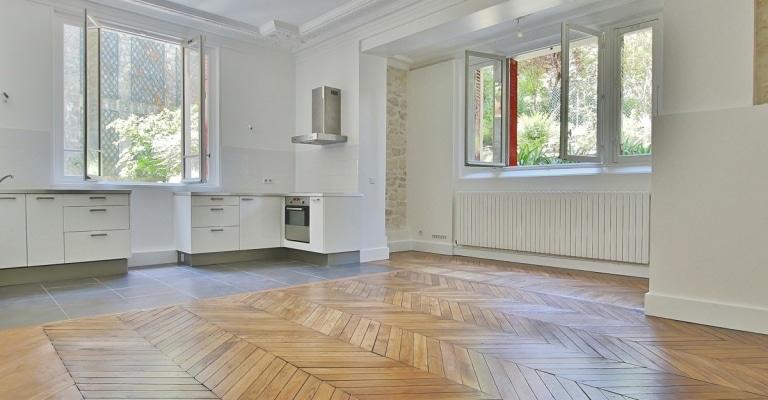 La-MuetteVoie-privée-–-Calme-et-volume-sur-jardin-dans-un-hôtel-particulier-–-75016-Paris-3