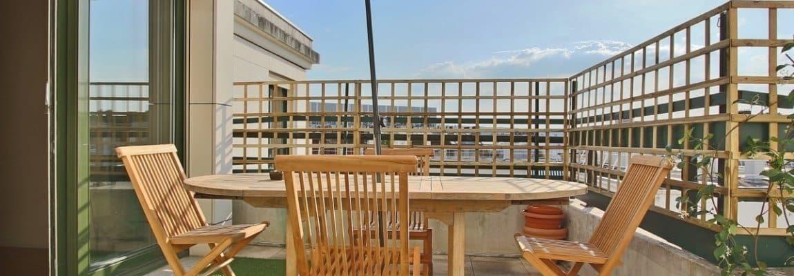 Marcel Sembat – Dernier étage terrasse soleil et calme – 92100 Boulogne 16