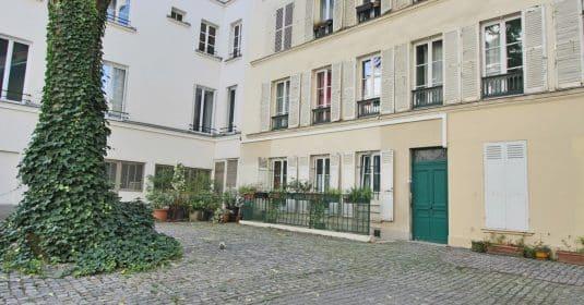 Place de ClichyBatignolles – Charme et patio sur une jolie cour – 75018 Paris (41)