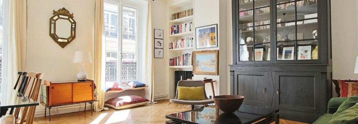 Place des VictoiresBourse – Rénové, spacieux et déco vintage – 75002 Paris (14)