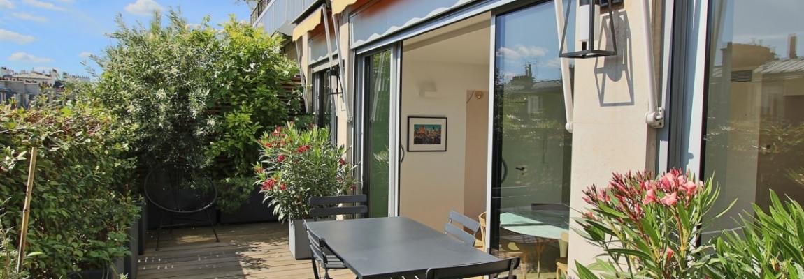 Village de Passy – Rénovation de qualité et terrasse plein soleil – 75016 Paris (9)