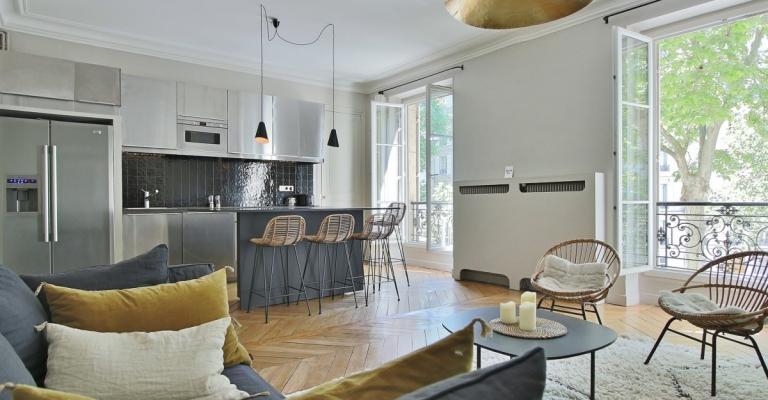 VilliersWagram – Bel haussmannien plein sud et décoration raffinée – 75017 Paris (23)